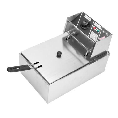 2500W 6L Electric Fryer Countertop French Fry