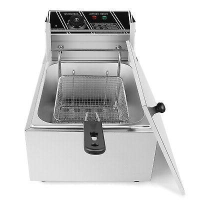 2500W Fryer Frying Basket