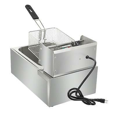 2500W Deep Fryer Cooking Machine Commercial Basket