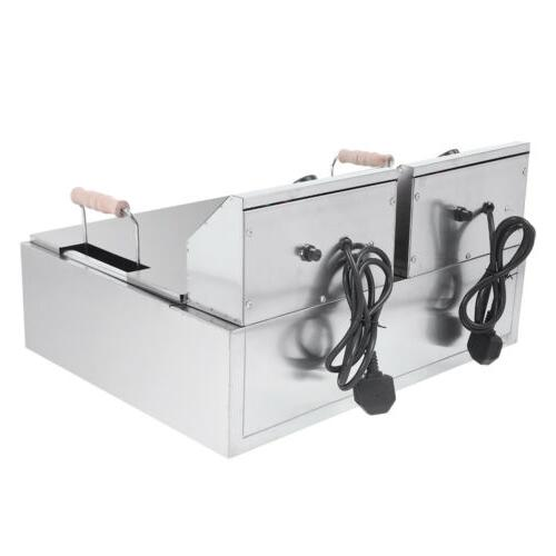 2500W Electric Deep Stainless Basket 12L
