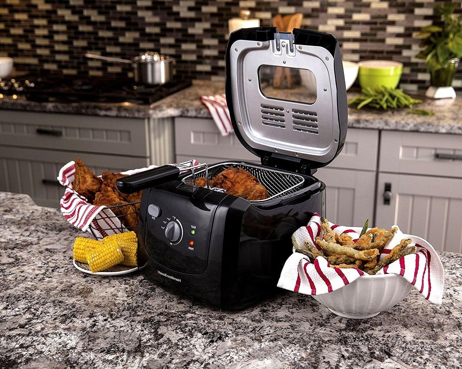 2L Commercial Electric Deep Fryer Drain Fast Food French Fry