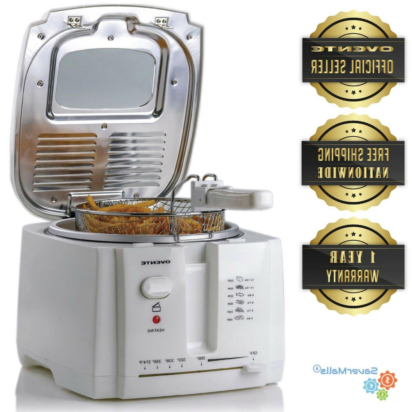 2l electric deep fryer stainless steel removable