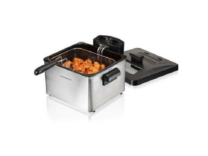 3 Professional Style Deep Fryer Extra 12 Cup
