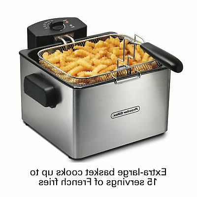 Proctor Deep with 5 L Capacity, Silver