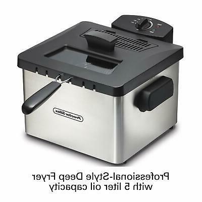 Proctor Silex 35044 Professional-Style Deep Fryer L Capacity,