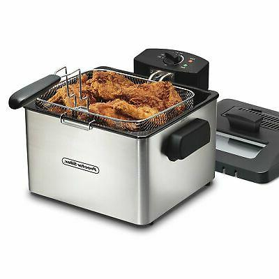 35044 professional style deep fryer with 5