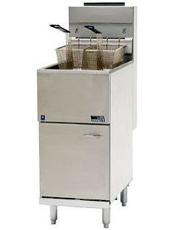 PITCO 35C+S 35 LB-40lb.  Frialator Commercial Fryer gas frye