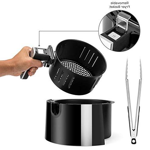 Best Choice 8-in-1 Non-Stick Air Fryer Tongs, -