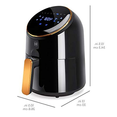 Best Products 1400W Air Fryer Kitchen w/LCD