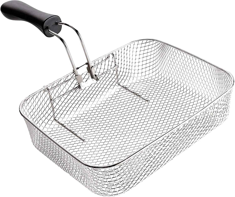 Chefman Fryer w/Basket Strainer Perfect For Shrimp,