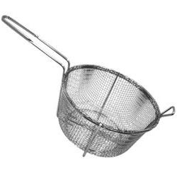"Misc Imports 9 1/2"" 4-Mesh Round Fry Basket Fry  Category: F"