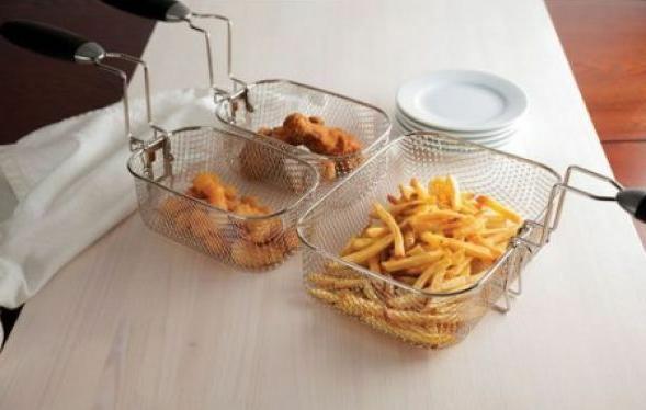 Farberware 4L Deep Stainless Baskets Cookware Appliance