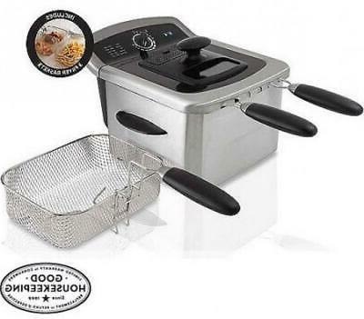 Stainless 2 Dishwasher Frying Basket NEW