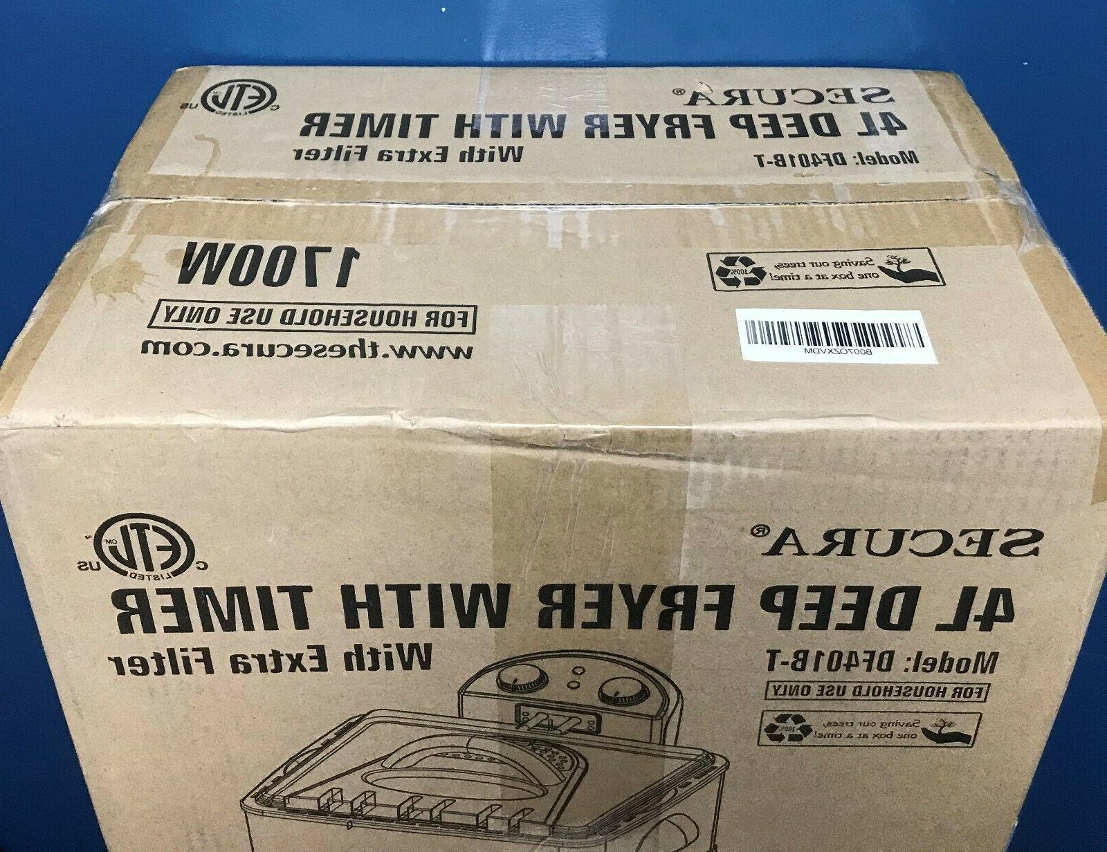 SECURA Fryer 1700W IN BOX!!