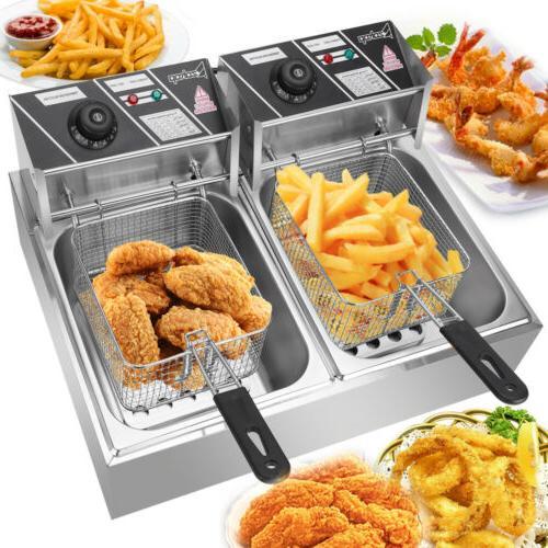 5000w 12 l electric deep fryer portable
