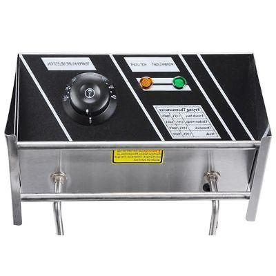 12L Electric Deep Countertop 5000W Commercial Restaurant