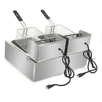ZOKOP 5000W Deep Fryer 2 Commercial