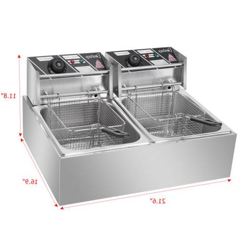 US 5000W Electric Deep Commercial Restaurant