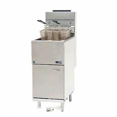 Pitco - 65C+S - Economy 80 Lb Gas Fryer