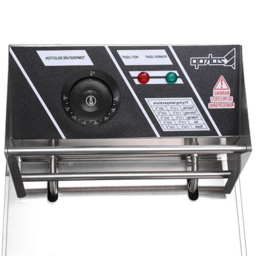 2500W Deep Fryer Steel