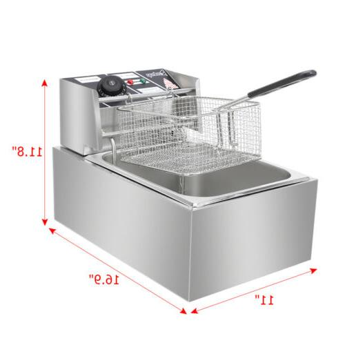 2500W Electric Deep Basket Restaurant 6