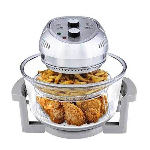 Big Boss Air Fryer, Easy in Timer, Includes 50+ Recipe Book -