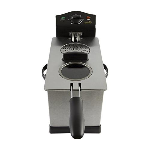 Chard Fryer, Stainless Steel, liter, 1700 watts