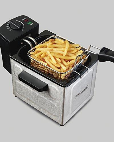 Proctor Fryer, With Basket, Oil Professional Grade, Stainless Steel