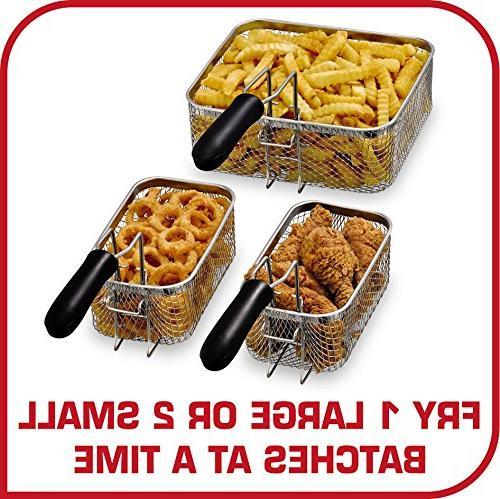 T-fal FR3900 Deep Electric Deep Fryer, Stainless Steel Fryer, 4