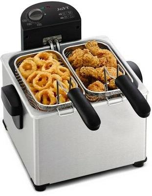 T-fal FR3900 Deep Fryer, Electric Deep Fryer, Stainless Stee