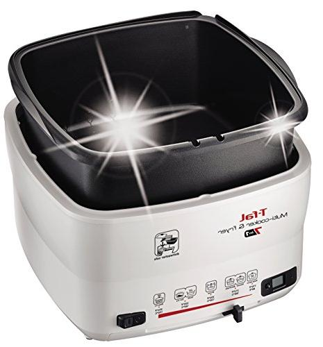 T-fal Multi-Cooker and Deep Nonstick Timer, Pound,