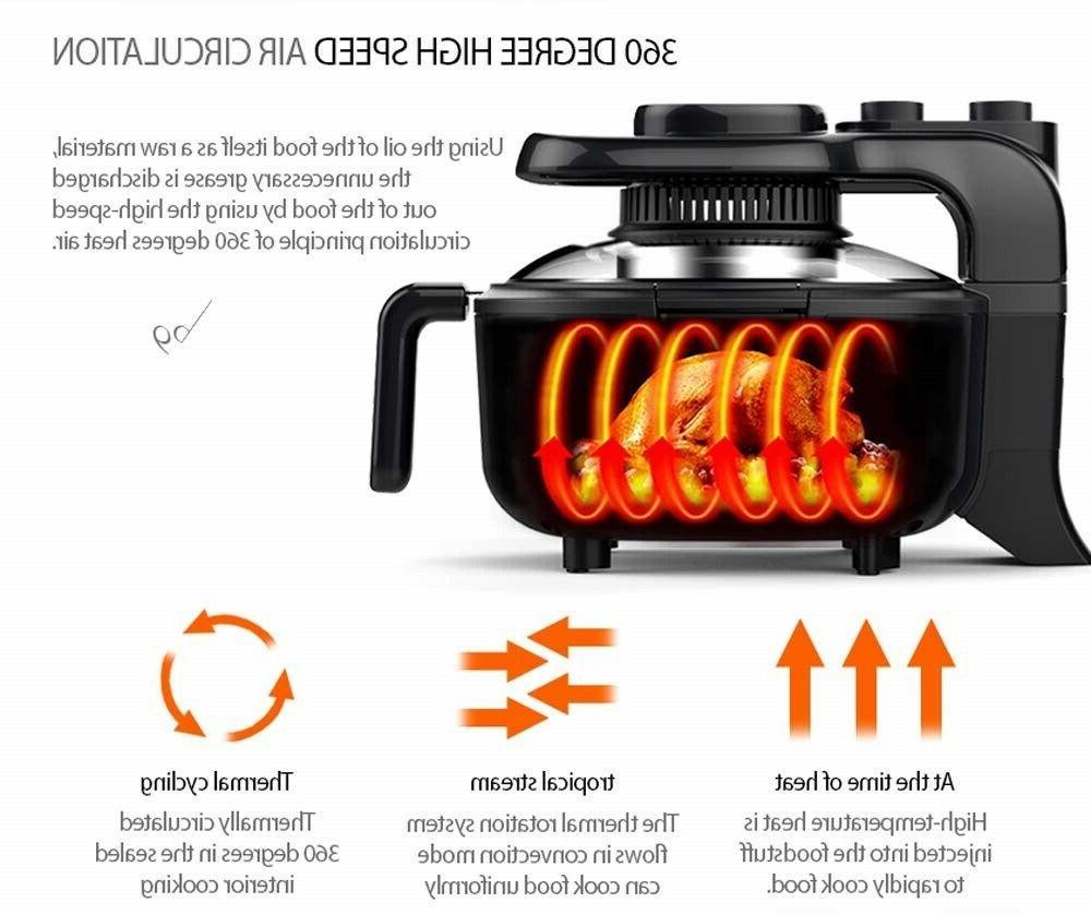 Air Fryer Deep Fryer Oil Viewing Cook Air 3