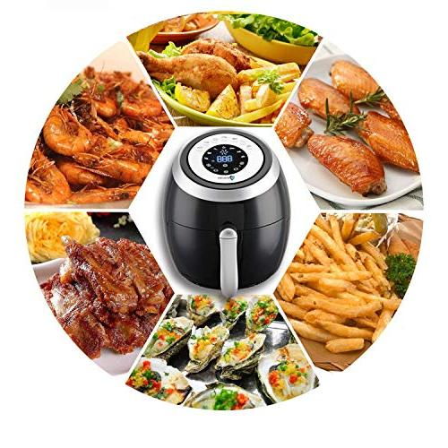 Air Deep Oven Cooker Programmable Powered Machine Airfryer