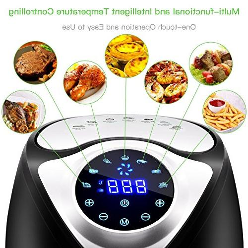 Electric Air Oil Free Hot Fryer with Stainless