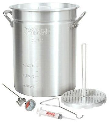 aluminum deep fryer 30 qt