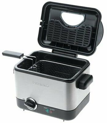 Cuisinart Compact Deep Fryer, Brushed Stainless Steel
