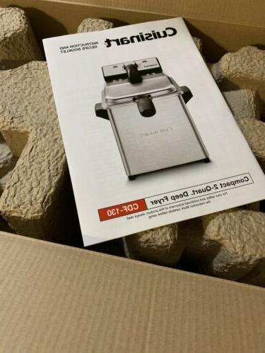 Cuisinart CDF-130 Fryer Box