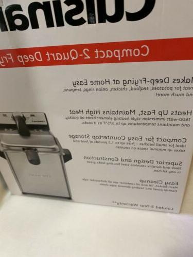 Cuisinart Mini Fryer Brand New Box