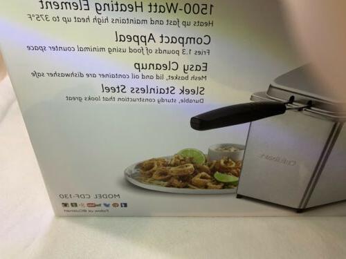 Cuisinart Deep Fryer Box
