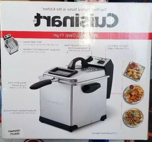 Cuisinart CDF-170 Deep Fryer, 3.4