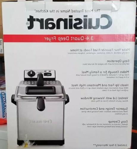 Cuisinart Fryer, 3.4