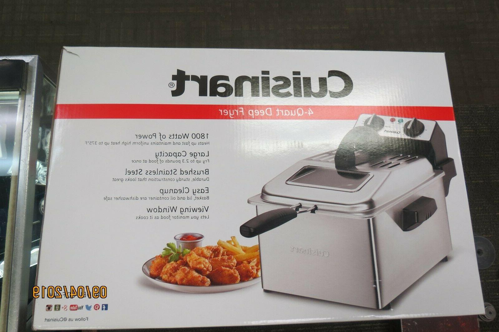 cdf 200 4 quart electric deep fryer