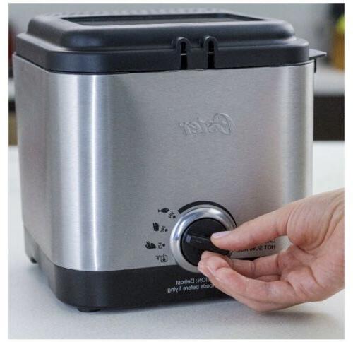 Oster CKSTDF102-SS Compact Deep Fryer, Stainless