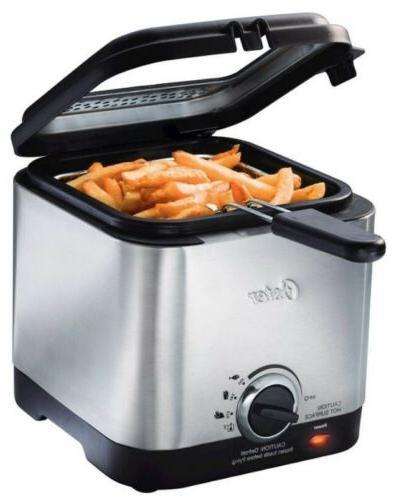 ckstdf102 ss style compact deep fryer stainless
