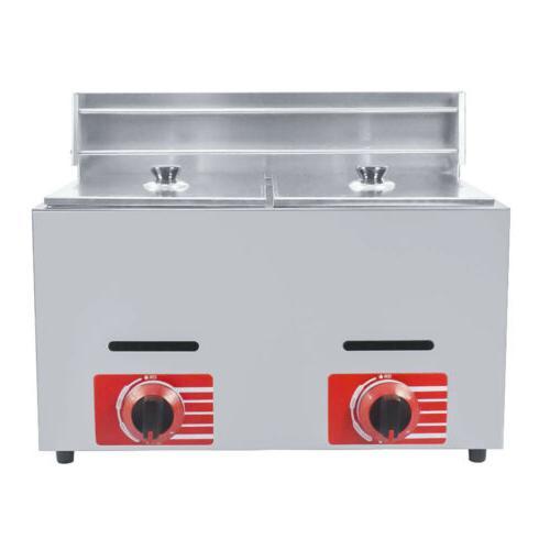 Commercial Countertop Fryer 2 Deep GF-72 Propane