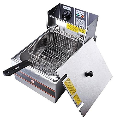 commercial electric countertop stainless steel