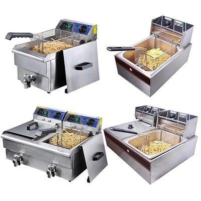 commercial electric deep fryer french fry bar