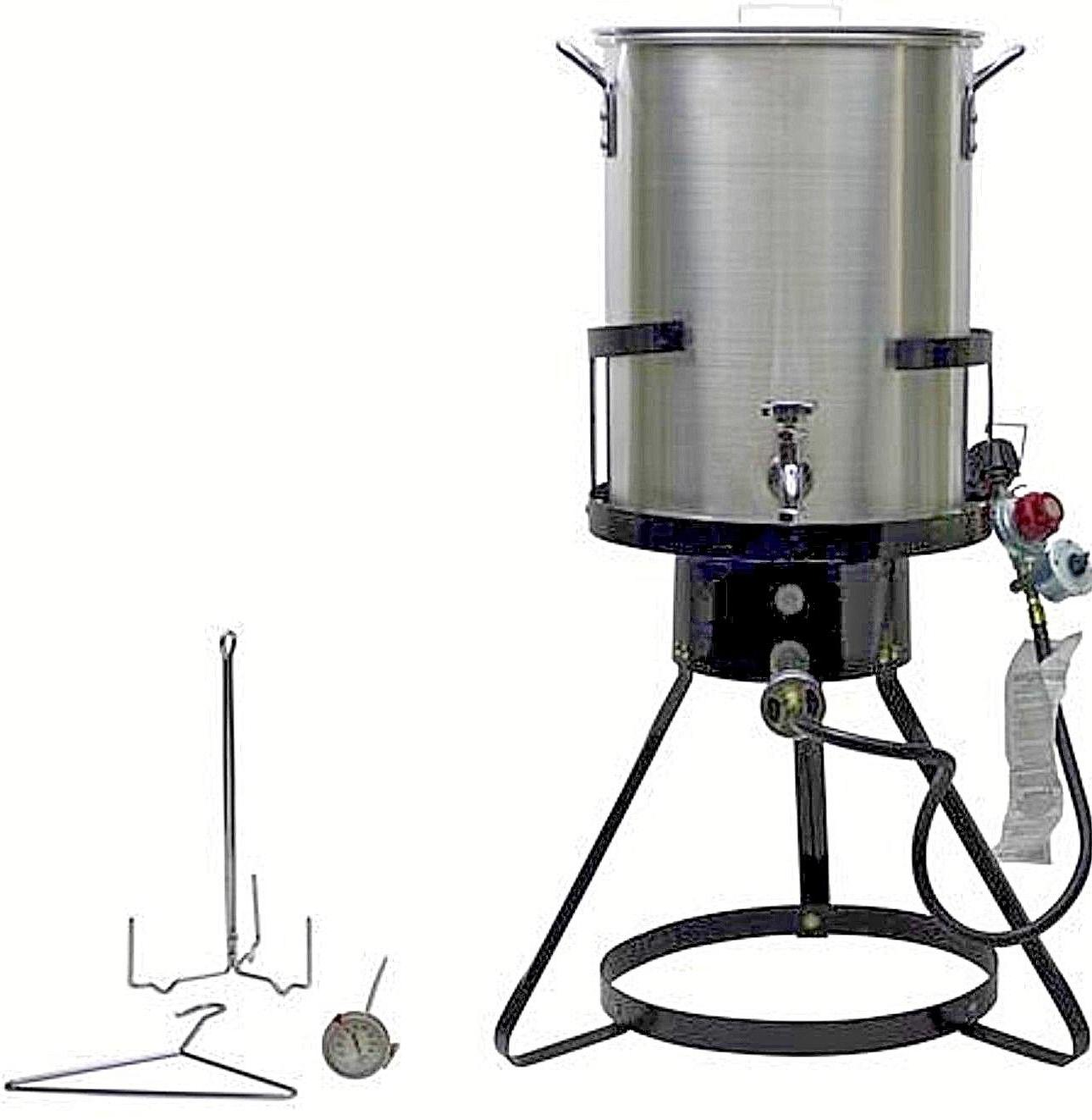 commercial grade turkey deep fryer large pot