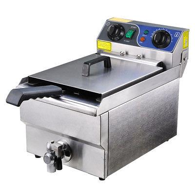 Deep Fryer w/ Timer Stainless Steel