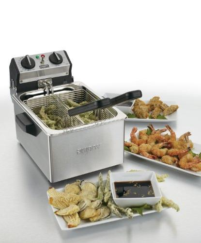 Waring Commercial Countertop Compact Fryer,